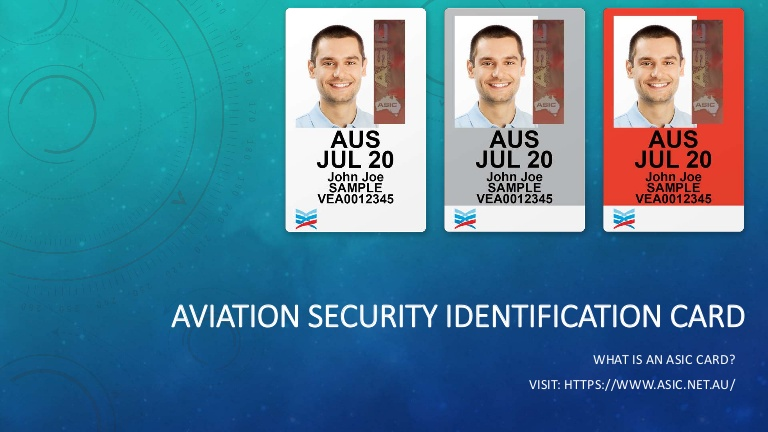 ASIC airport security clearance